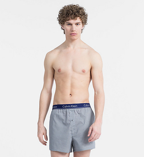 CALVIN KLEIN Slim Fit Boxers - WUXI 2 HEATHER GREY - CALVIN KLEIN BOXERS - main image
