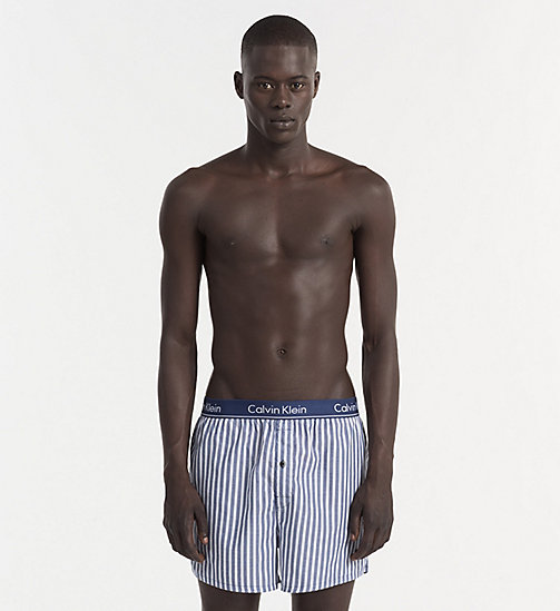 CALVINKLEIN Slim Fit Boxers - BRISTOL STRIPE SYMPHONY - CALVIN KLEIN BOXERS - main image