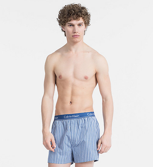 CALVIN KLEIN Boxers - UNION STRIPE DOWNPOUR - CALVIN KLEIN NEW FOR MEN - main image