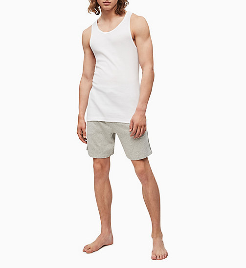 CALVIN KLEIN 2 Pack Tank Tops - Cotton Classics - WHITE - CALVIN KLEIN MULTIPACKS - detail image 1