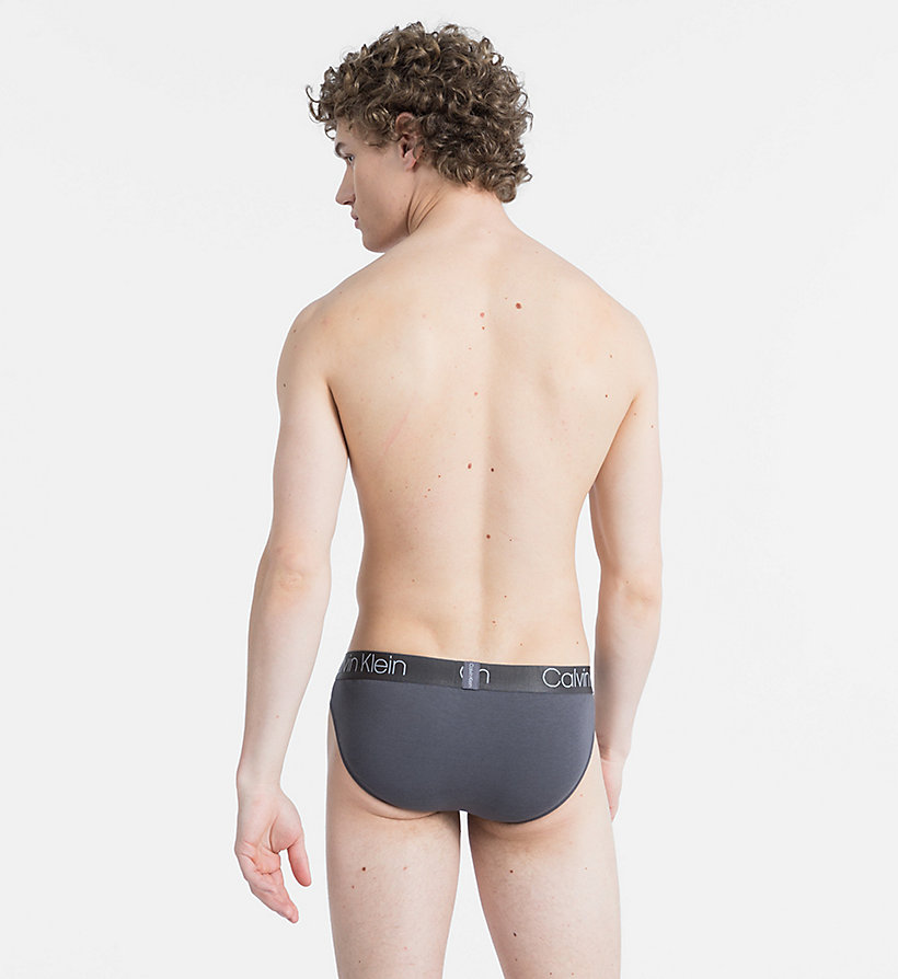 CALVINKLEIN Hip Briefs - Cotton Modal Luxe - BLACK - CALVIN KLEIN UNDERWEAR - detail image 1
