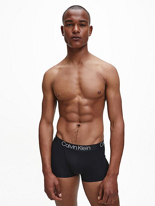 CALVIN KLEIN Trunks - Cotton Modal Luxe - BLACK - CALVIN KLEIN UNDERWEAR - detail image 1