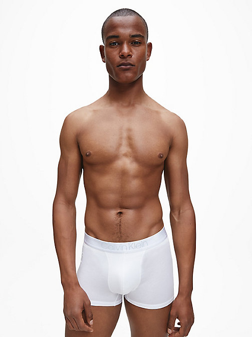 CALVIN KLEIN Trunks - Cotton Modal Luxe - WHITE - CALVIN KLEIN UNDERWEAR - detail image 1
