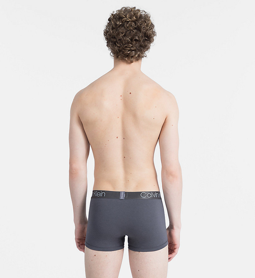 CALVIN KLEIN Trunks - Cotton Modal Luxe - BLEACHED DENIM - CALVIN KLEIN UNDERWEAR - detail image 1