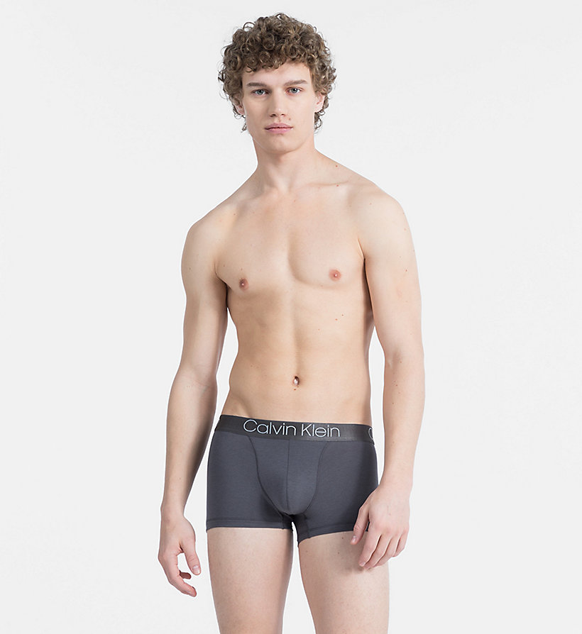 CALVIN KLEIN Trunks - Cotton Modal Luxe - BLEACHED DENIM - CALVIN KLEIN UNDERWEAR - main image