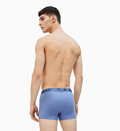 CALVIN KLEIN Trunks - Cotton Modal Luxe - BLEACHED DENIM - CALVIN KLEIN NEW FOR MEN - detail image 1