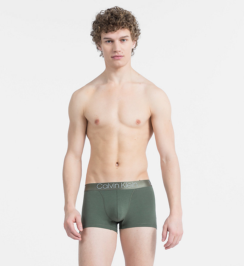 CALVIN KLEIN Trunks - Cotton Modal Luxe - BLACK - CALVIN KLEIN UNDERWEAR - main image
