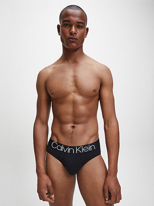 CALVIN KLEIN Hip Briefs - Evolution - BLACK - CALVIN KLEIN BRIEFS - detail image 1