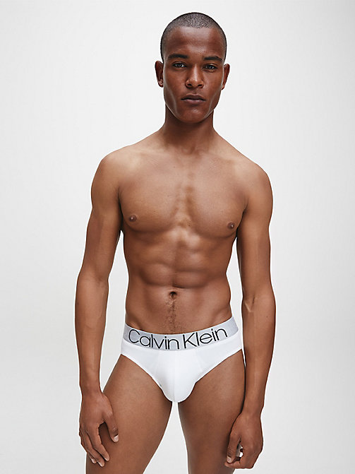 CALVINKLEIN Hip Briefs - Evolution - WHITE - CALVIN KLEIN BRIEFS - detail image 1