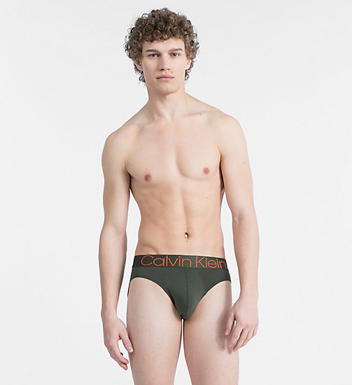 CALVIN KLEIN Hip Briefs - Evolution - FOREST NIGHT? - CALVIN KLEIN UNDERWEAR - main image