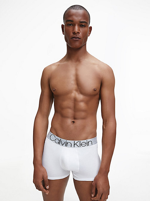 CALVIN KLEIN Trunks - Evolution - WHITE - CALVIN KLEIN TRUNKS - detail image 1