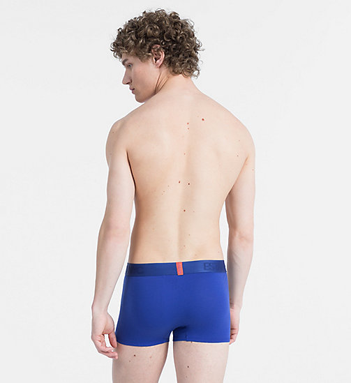 CALVIN KLEIN Trunks - Evolution - MAZARINE BLUE - CALVIN KLEIN UNDERWEAR - detail image 1