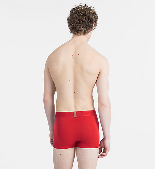 CALVINKLEIN Trunks - Evolution - MANIC RED - CALVIN KLEIN ALL GIFTS - detail image 1