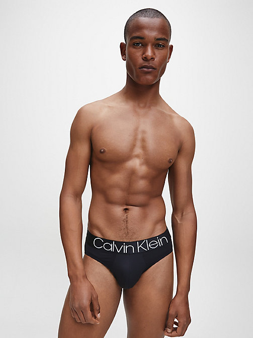 CALVIN KLEIN Hip Briefs - Evolution - BLACK - CALVIN KLEIN NEW FOR MEN - detail image 1