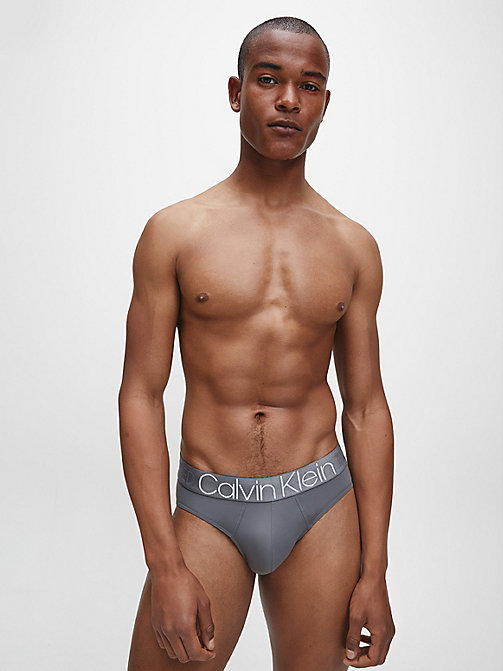 CALVIN KLEIN Hip Briefs - Evolution - GREY SKY - CALVIN KLEIN NEW FOR MEN - detail image 1