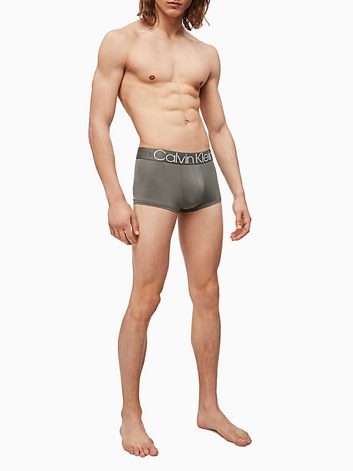CALVIN KLEIN Low Rise Trunks - Evolution - GREY SKY - CALVIN KLEIN UNDERWEAR - detail image 1