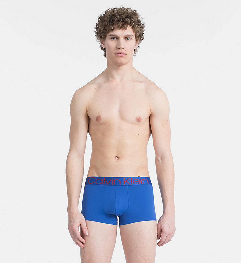 CALVINKLEIN Low Rise Trunks - Evolution - SUNFLOWER - CALVIN KLEIN UNDERWEAR - main image