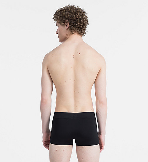 CALVINKLEIN Low Rise Trunks - CK Black - BLACK - CALVIN KLEIN TRUNKS - detail image 1
