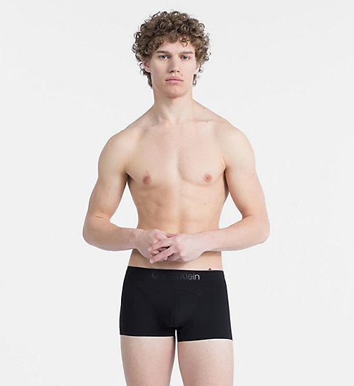 CALVIN KLEIN Low Rise Trunks - CK Black - BLACK - CALVIN KLEIN UNDERWEAR - main image