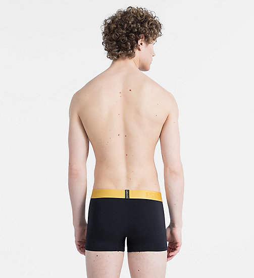 CALVIN KLEIN Trunks - Evolution - BLACK W/ CHROMATIC GOLD WB - CALVIN KLEIN ALL GIFTS - detail image 1