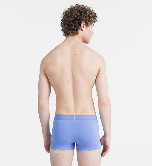 CALVINKLEIN Trunks - Monogram - PERIWINKLE - CALVIN KLEIN MONOGRAM FOR HIM - detail image 1