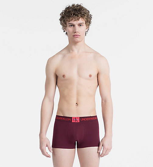 CALVINKLEIN Boxer - Monogram - PHEOBE W/ RED PATCH - CALVIN KLEIN MONOGRAM FOR HIM - image principale