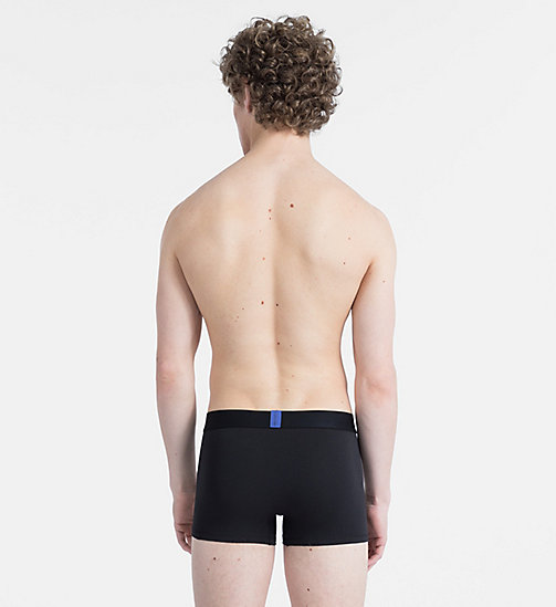 CALVINKLEIN Trunks - Bold Accents - BLACK - CALVIN KLEIN NEW FOR MEN - detail image 1