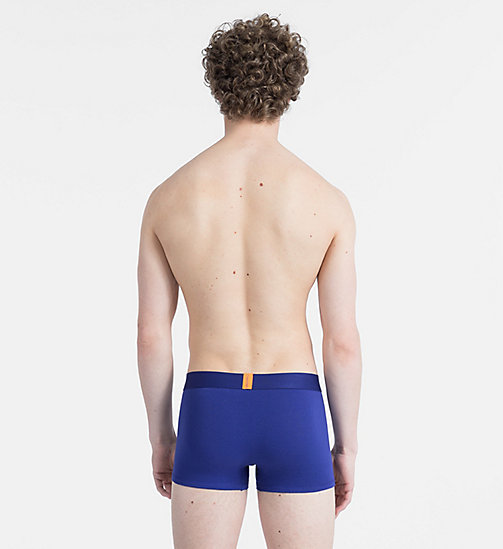 CALVINKLEIN Trunks - Bold Accents - BRIGHT INDIGO - CALVIN KLEIN NEW FOR MEN - detail image 1