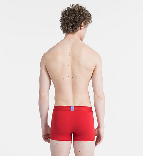 CALVINKLEIN Trunks - Bold Accents - MANIC RED - CALVIN KLEIN NEW FOR MEN - detail image 1