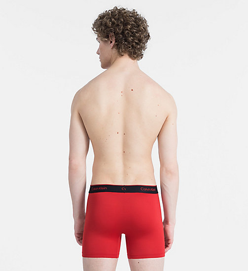 CALVINKLEIN 2 Pack Boxers - CK Pro Air - BLACK/MANIC RED - CALVIN KLEIN TRUNKS - detail image 1