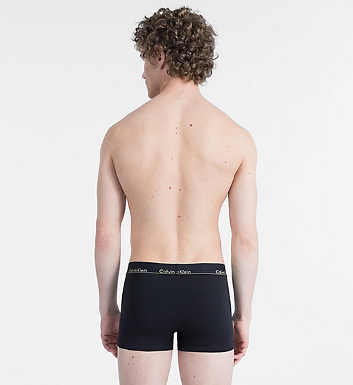 CALVINKLEIN Trunks - Modern Cotton - BLACK W/ GOLD LOGO WB - CALVIN KLEIN TRUNKS - detail image 1