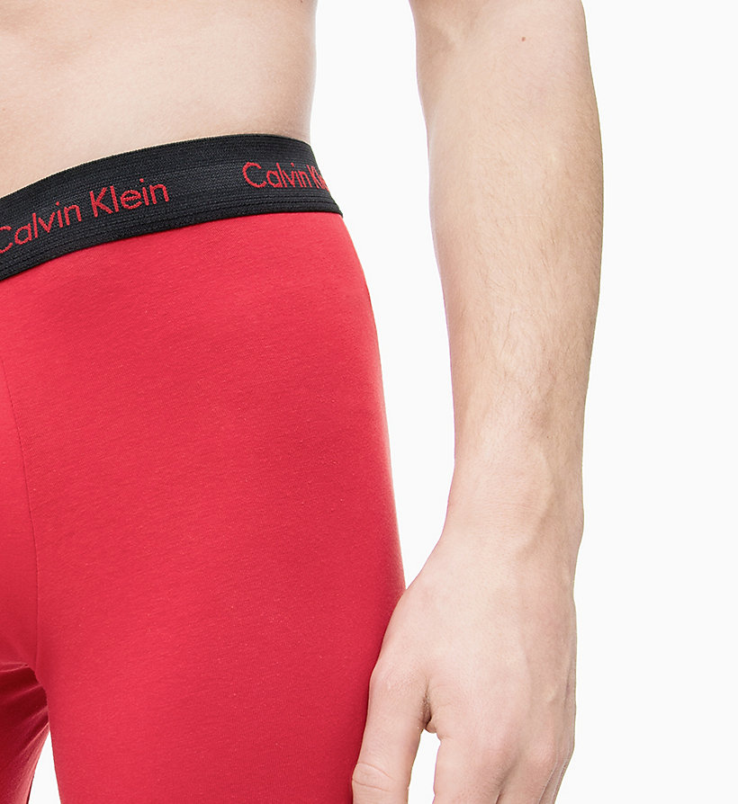 CALVIN KLEIN 3 Pack Boxers - Cotton Stretch - WHITE - CALVIN KLEIN UNDERWEAR - detail image 2