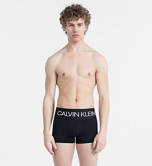 CALVINKLEIN Trunks - CK Performance - BLACK W/ SUNFLOWER PATCH - CALVIN KLEIN LOGO SHOP - main image