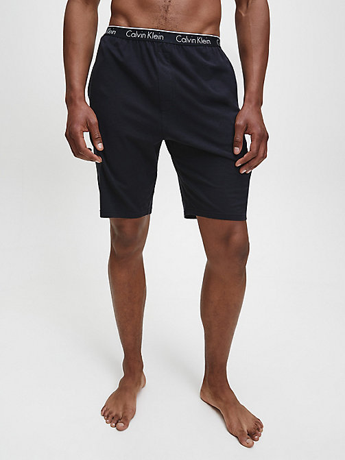 CALVINKLEIN PJ Shorts - CK Sleep - BLACK - CALVIN KLEIN LOUNGE PANTS - main image