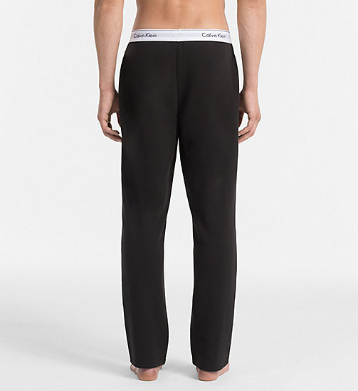 CALVINKLEIN Pants - Modern Cotton - BLACK - CALVIN KLEIN NIGHTWEAR & LOUNGEWEAR - detail image 1
