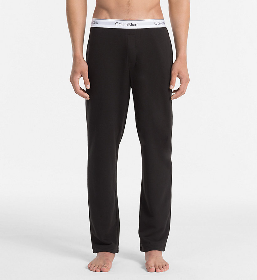 CALVINKLEIN Lounge Pants - Modern Cotton - GREY HEATHER - CALVIN KLEIN UNDERWEAR - main image