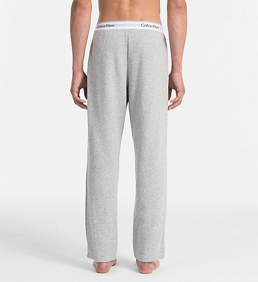 CALVIN KLEIN Lounge Pants - Modern Cotton - GREY HEATHER - CALVIN KLEIN UNDERWEAR - detail image 1