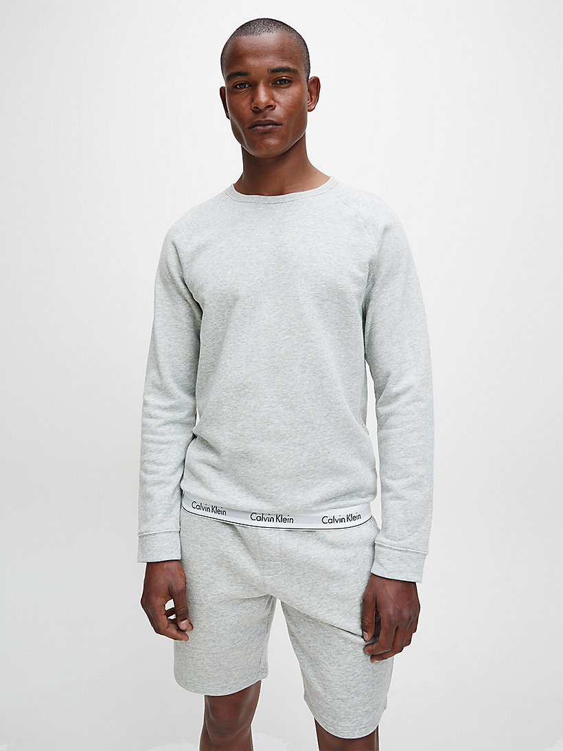 CALVINKLEIN Sweatshirt - Modern Cotton - HUNTSMAN HEATHER - CALVIN KLEIN UNDERWEAR - main image
