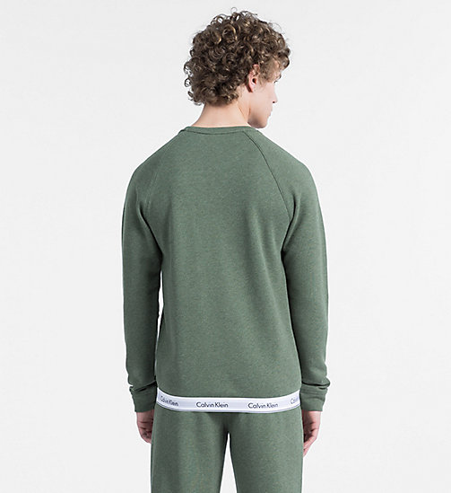 CALVINKLEIN Sweatshirt - Modern Cotton - HUNTSMAN HEATHER - CALVIN KLEIN LOUNGE TOPS - detail image 1