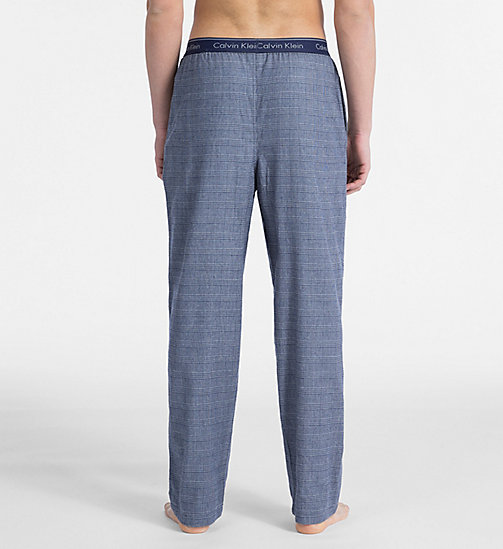 CALVINKLEIN PJ Pants - MAPLE PLAID BOLD NAVY - CALVIN KLEIN PYJAMA BOTTOMS - detail image 1