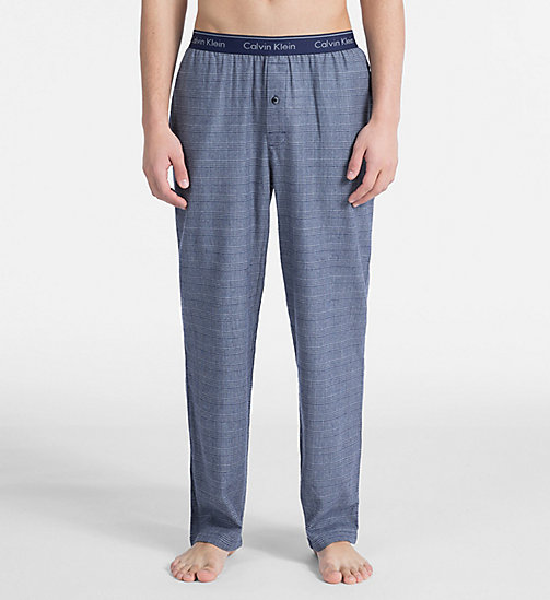 CALVINKLEIN PJ Pants - MAPLE PLAID BOLD NAVY - CALVIN KLEIN PYJAMA BOTTOMS - main image