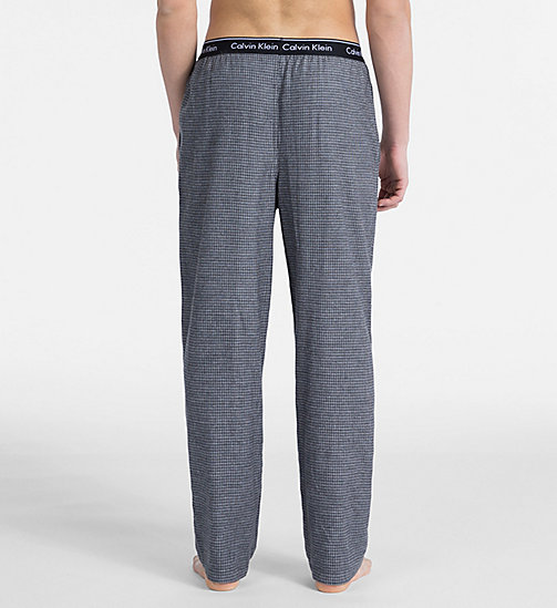 CALVIN KLEIN PJ Pants - MILL CHECK BLACK - CALVIN KLEIN NEW FOR MEN - detail image 1