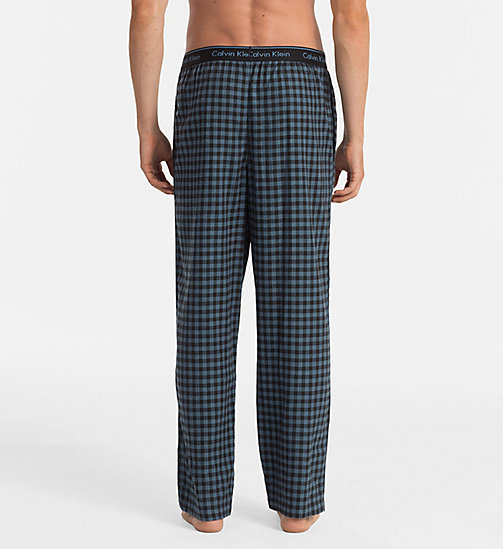 CALVINKLEIN PJ Pants - CASEMENT PLAID BLACK - CALVIN KLEIN UNDERWEAR - detail image 1