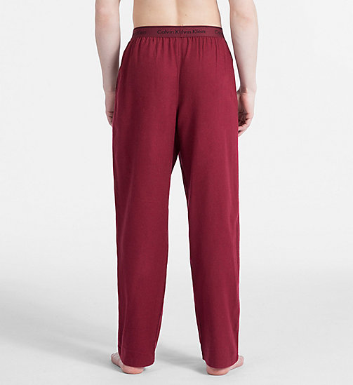 CALVIN KLEIN PJ Pants - EMBER HEATHER - CALVIN KLEIN NEW FOR MEN - detail image 1
