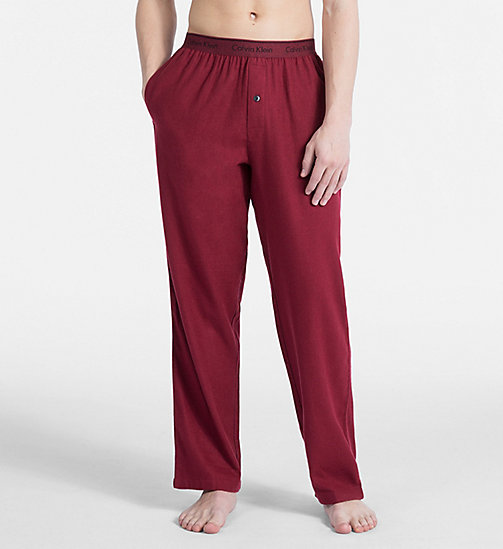 CALVINKLEIN PJ Pants - EMBER HEATHER - CALVIN KLEIN NEW FOR MEN - main image