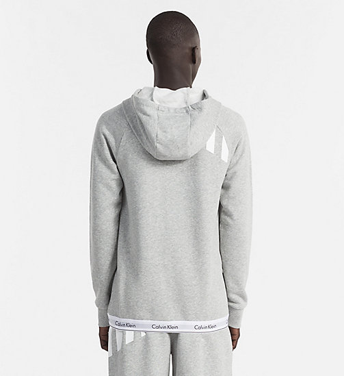 CALVINKLEIN Hoodie - Modern Cotton - HEATHER GREY - CALVIN KLEIN LOUNGE TOPS - detail image 1