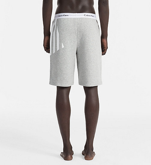 CALVINKLEIN Shorts - Modern Cotton - HEATHER GREY - CALVIN KLEIN LOUNGE PANTS - detail image 1