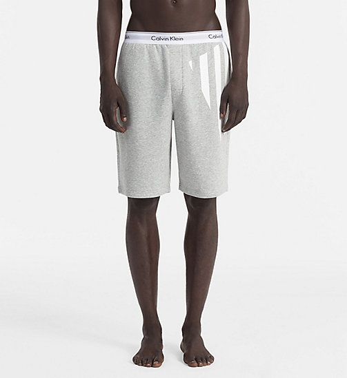 CALVINKLEIN Shorts - Modern Cotton - HEATHER GREY - CALVIN KLEIN LOUNGE PANTS - main image