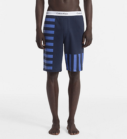 CALVINKLEIN Shorts - Modern Cotton - BLUE SHADOW - CALVIN KLEIN LOUNGE PANTS - main image