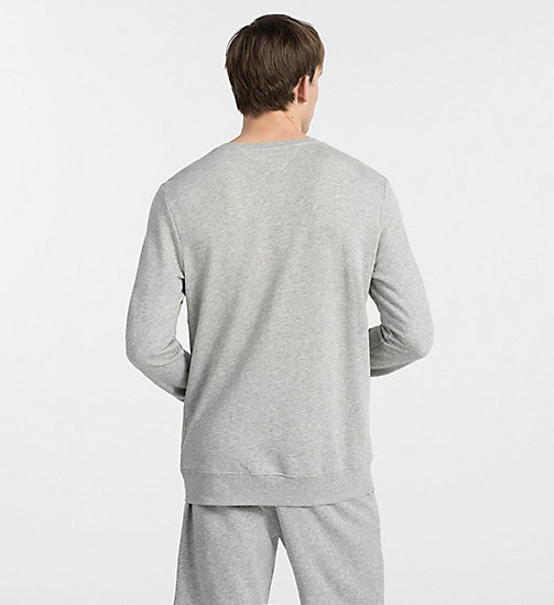 CALVINKLEIN Sweatshirt - Heritage - HEATHER GREY - CALVIN KLEIN LOUNGEBROEKEN - detail image 1